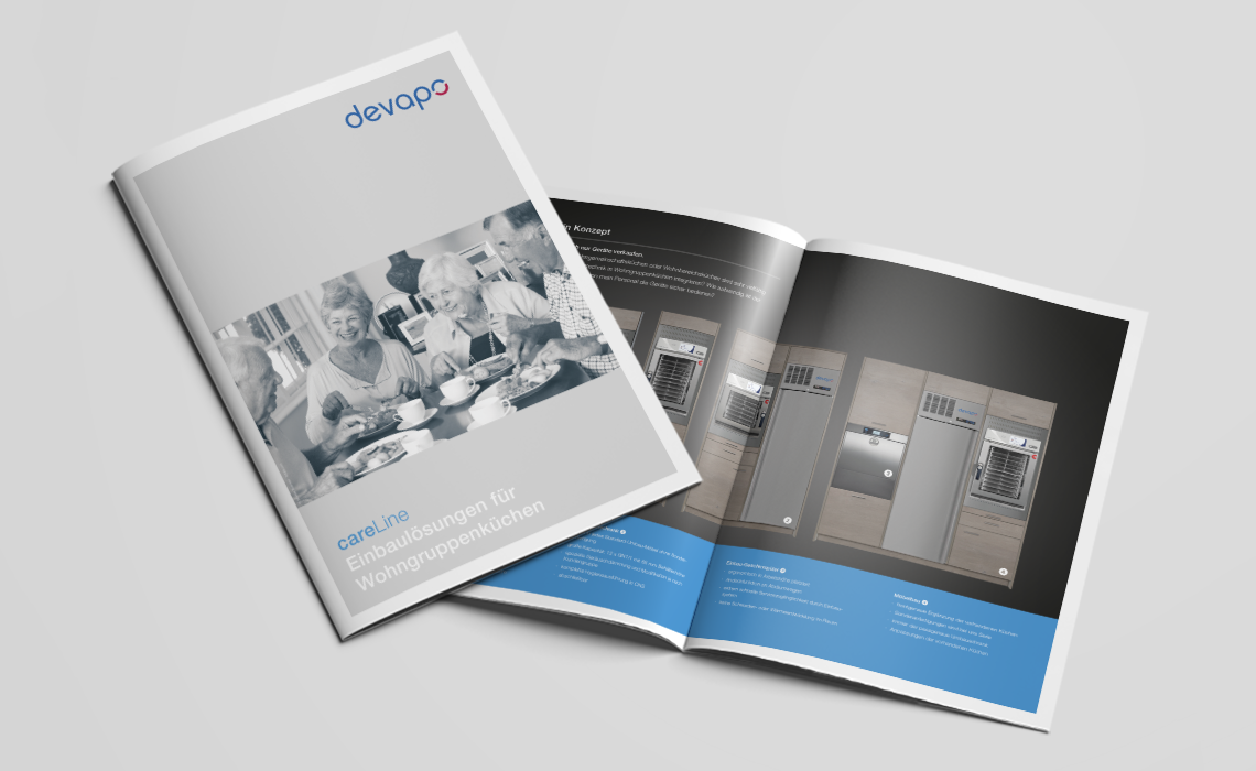 Projekte, devapo GmbH – Broschüre careLine – 2017