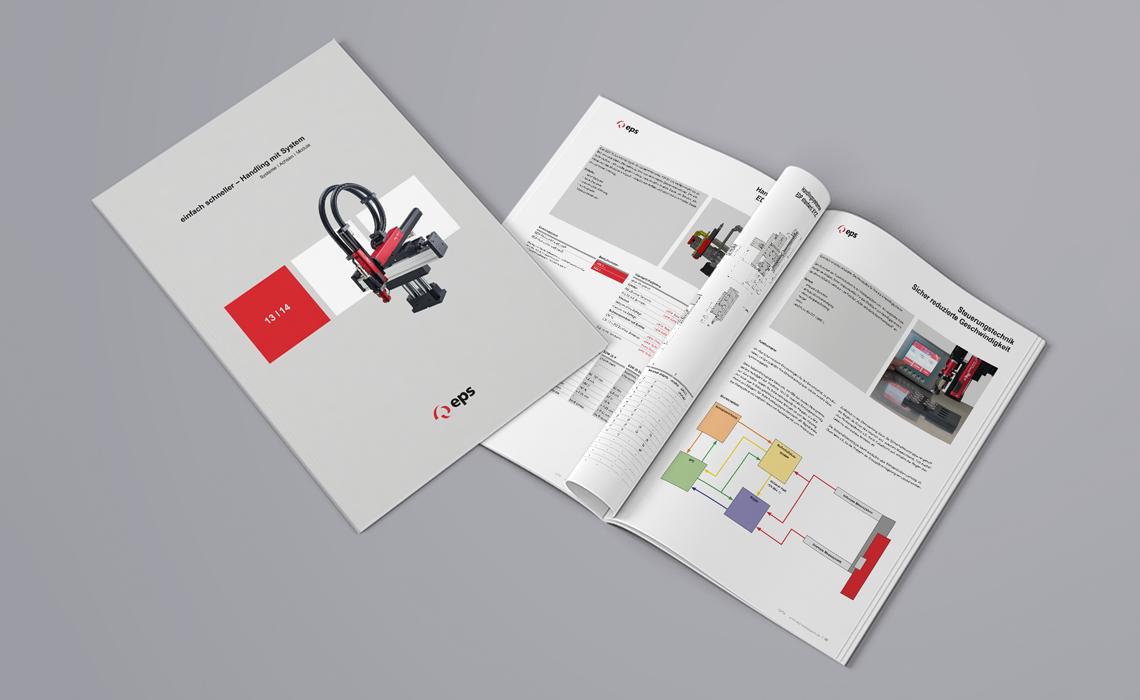 Projekte, eps GmbH – Katalog Handling mit System – 2014