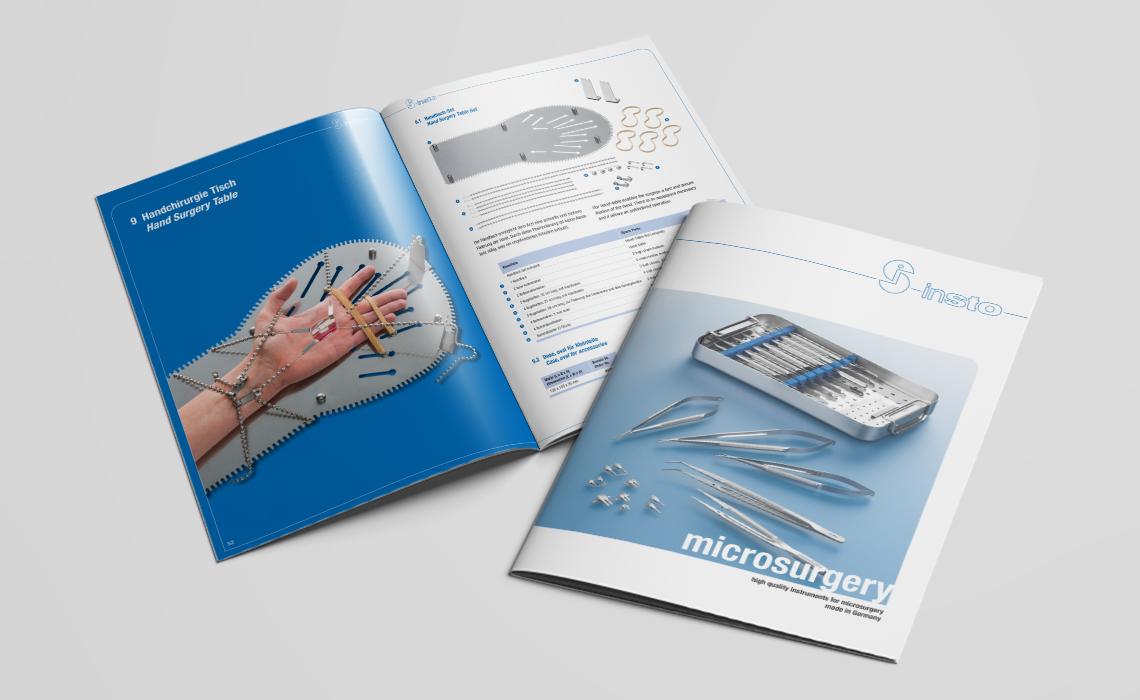 Projekte, insto – Katalog microsurgery – 2015