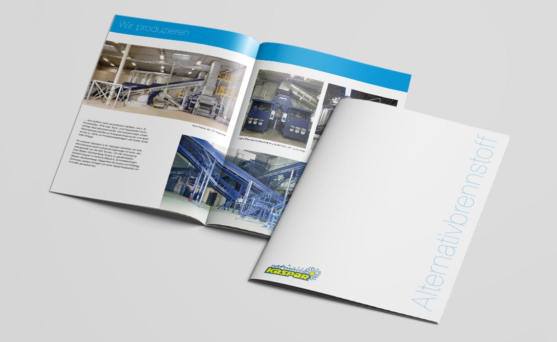 Projekte, Walter Kaspar GmbH – Broschüre Alternativbrennstoff – 2014