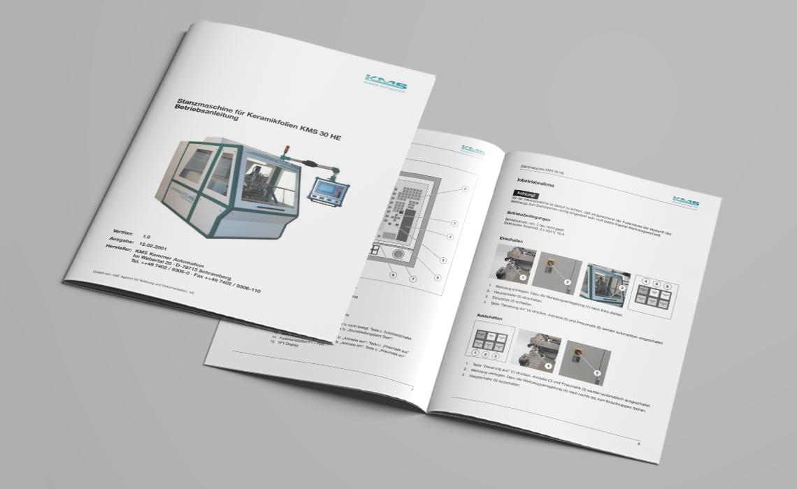 KMS Automation GmbH – Betriebsanleitung Stanzmaschine KMS 30 HE – 2001
