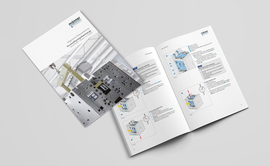 Projekte, Otto Männer GmbH – Einbauanleitung für Kunststoffspritzwerkzeuge – 2017