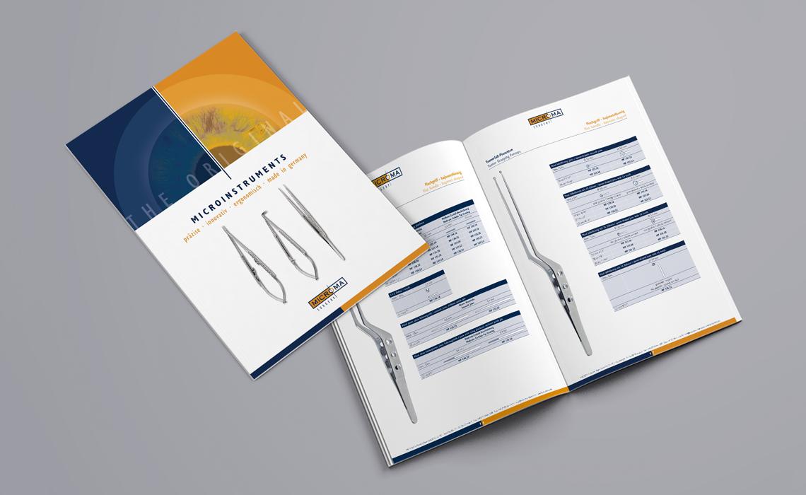 Projekte, Microma GmbH – Produktkatalog Microinstruments – 2016