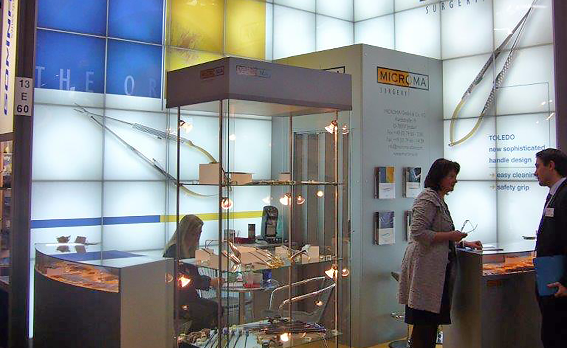 Microma GmbH – Messestand MEDICA 2009