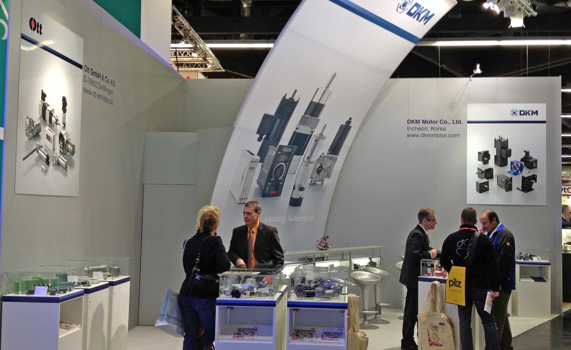 Ott GmbH – Messestand sps/ipc/drives 2012
