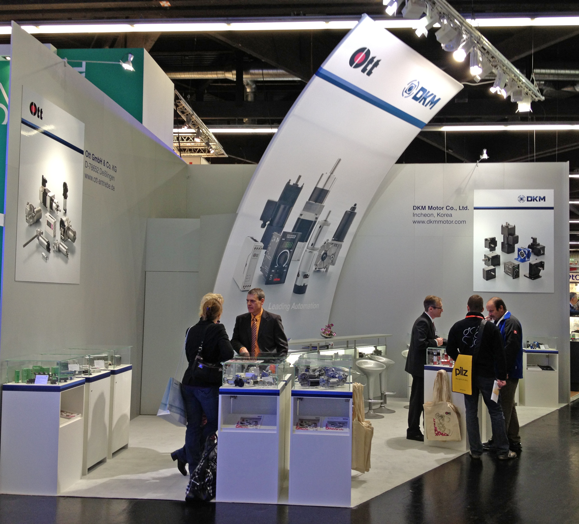 Ott GmbH – Messestand sps/ipc/drives 2012