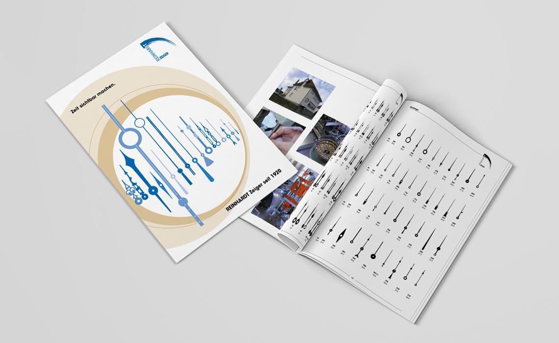 Reinhardt Zeiger GmbH – Produktkatalog Zeiger – 2011