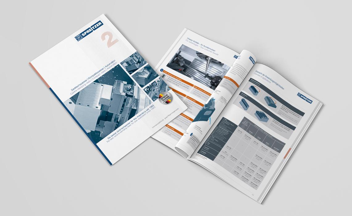 Projekte, Spreitzer GmbH – Katalog Zentrischspanner 2018