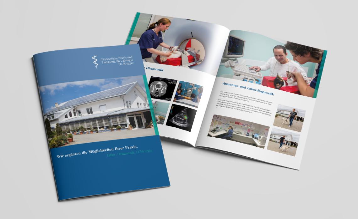 Projekte Tierklinik Riegger – Broschüre 2015