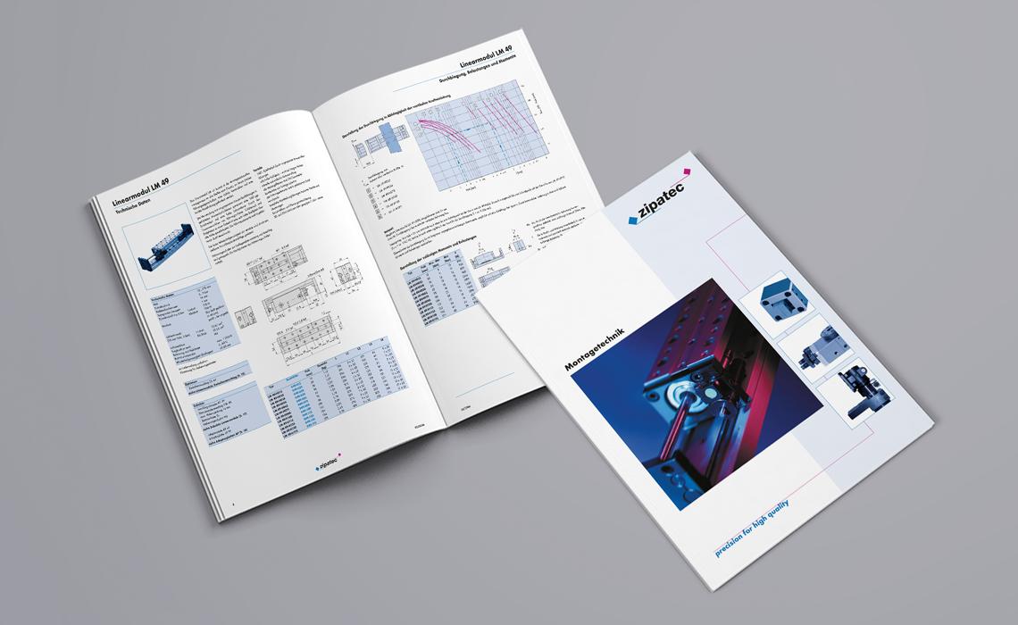 zipatec GmbH – Produktkatalog Montagetechnik – 2006