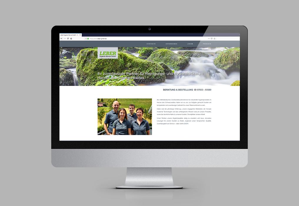 Leber Hygiene Service Website 2018