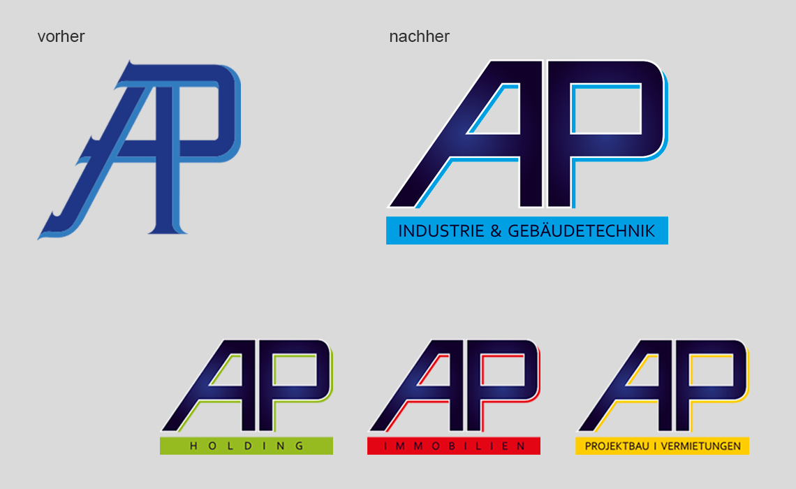 Aron Pilz – Logo Relaunch