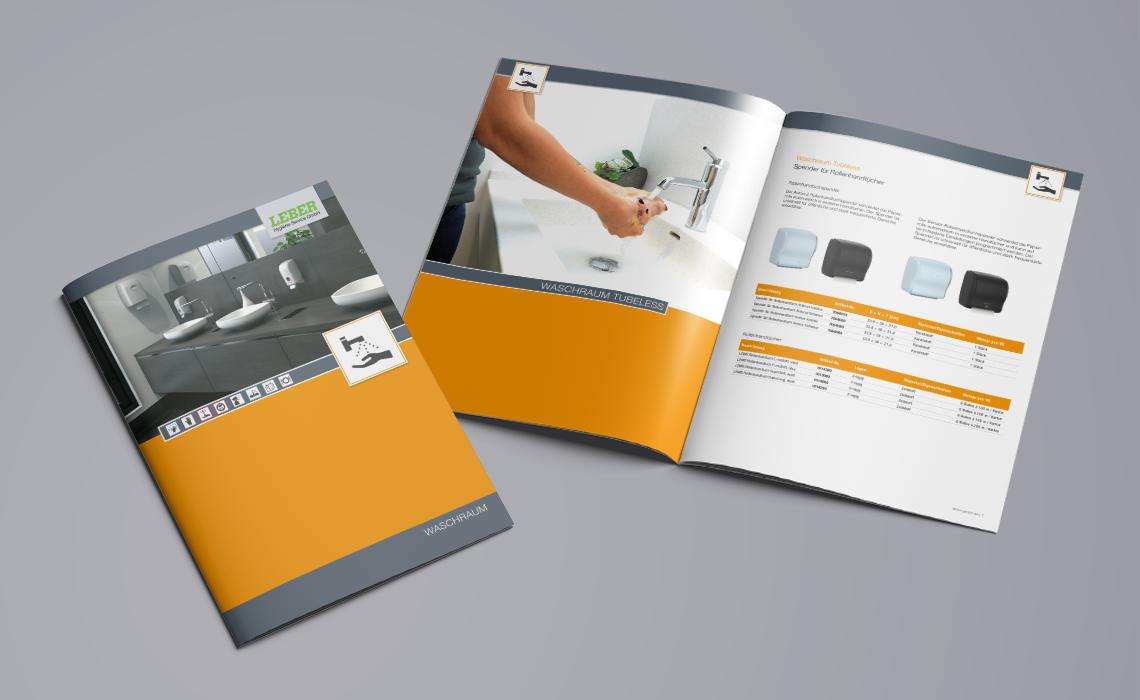 Leber Hygiene-Service GmbH – Produktkatalog Waschraum